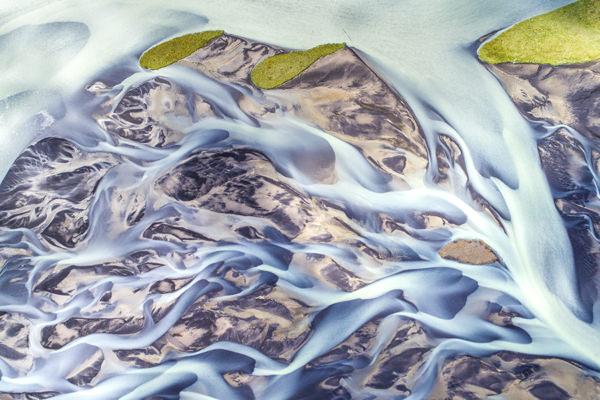 Photo riviere islandaise ledoux