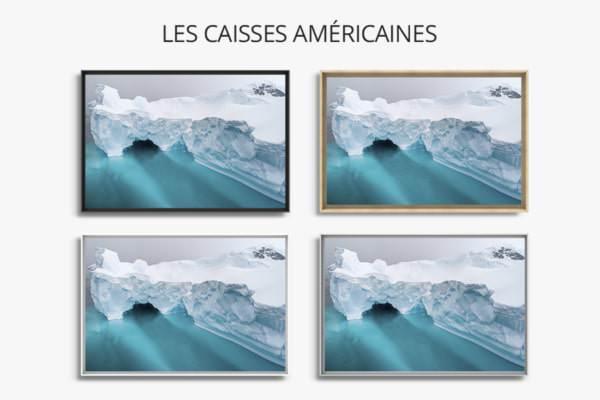 PHOTO L ICEBERG CAISSES AMERICAINES