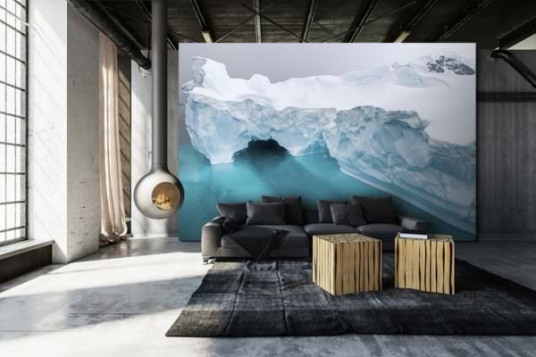PHOTO L ICEBERG papierpeint