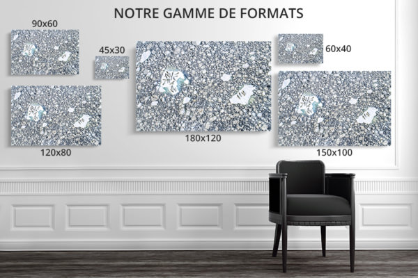 PHOTO LIT DE GLACE FORMATS DECO
