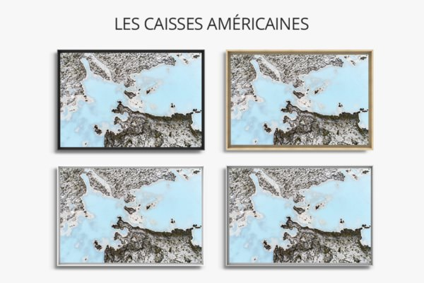 Photo blue lagon caisse americaine