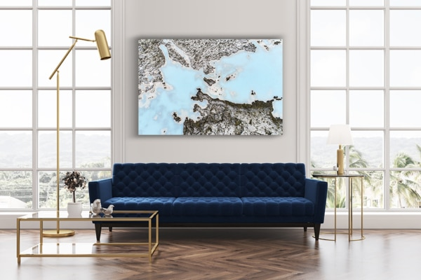 Photo blue lagon deco