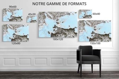Photo blue lagon formats deco