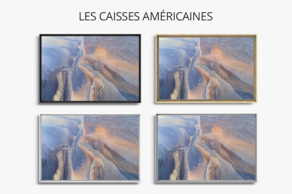 Photo couleurs abstraites de la terre caisses americaines