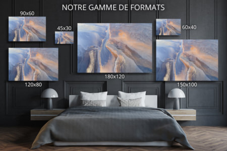 Photo couleurs abstraites de la terre formats deco