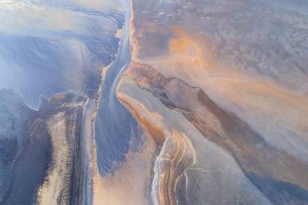 Photo couleurs abstraites de la terre ledoux
