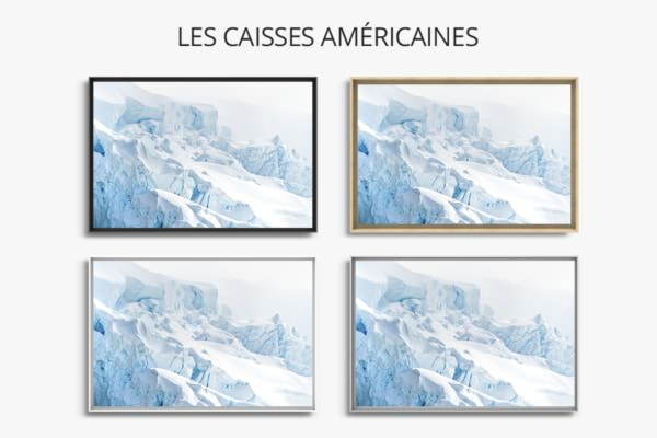 Photo crevasses caisse americaine