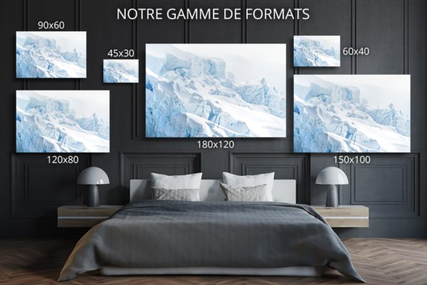 Photo crevasses formats deco
