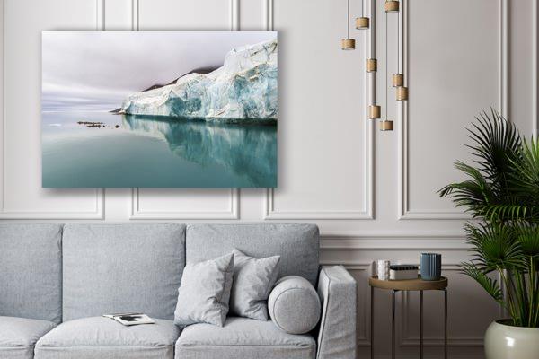 Photo front de glacier deco
