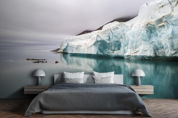 Photo front de glacier papierpeint