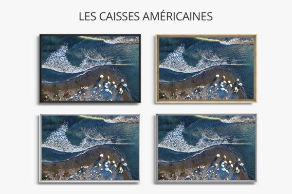 Photo place dicebergs caisse americaine