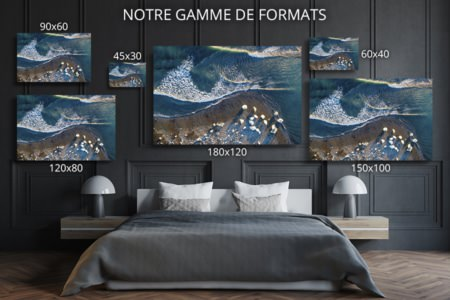 Photo plage dicebergs formats deco