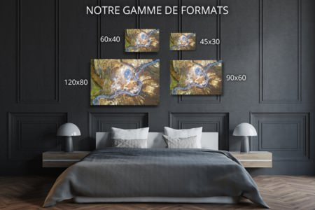 Photo riviere geothermale formats deco