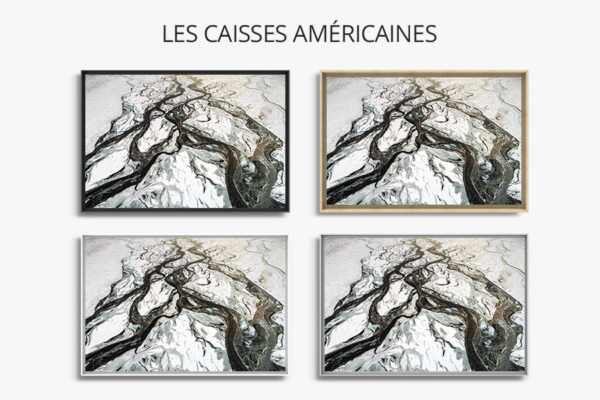 Photo riviere hivernale caisse americaine