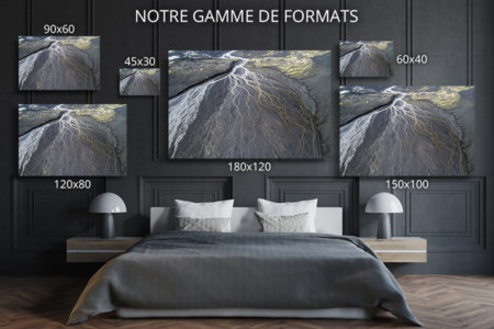 Photo veines de la terre formats deco