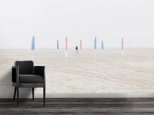 photo parasols papierpeint