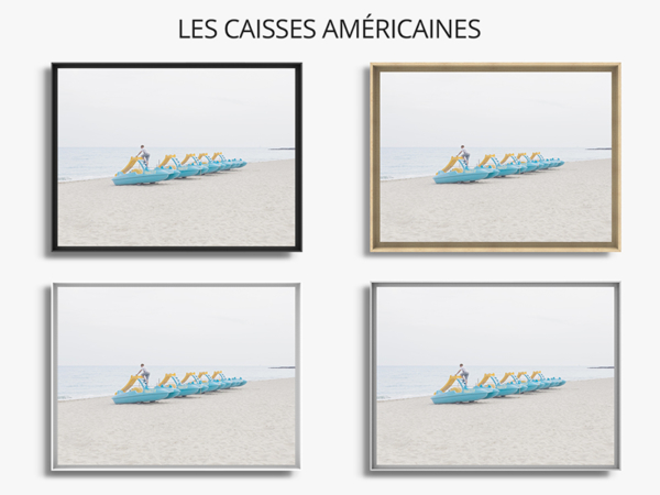 photo pédalos caisse americaine