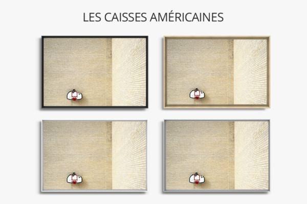 PHOTO Au coin CAISSES AMERICAINES