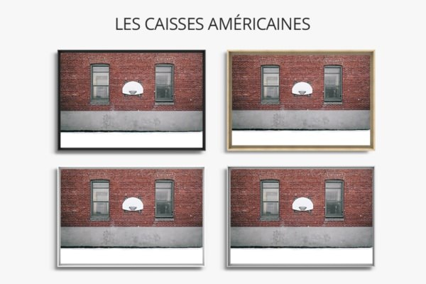 PHOTO Blanche Neige CAISSES AMERICAINES