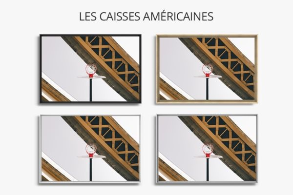 PHOTO Chicago CAISSES AMERICAINES