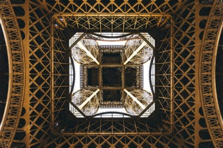 PHOTO EIFFEL LOOK UP remi duchili