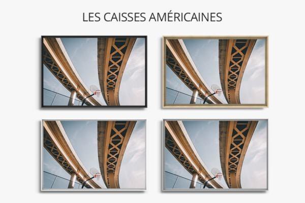 PHOTO Echanges sous echangeurs CAISSES AMERICAINES