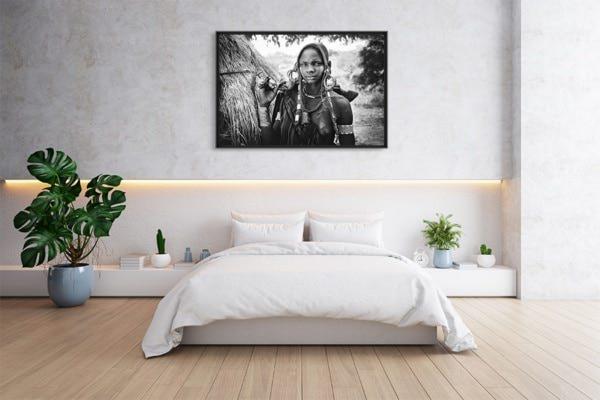 PHOTO Ethiopie femme a la kalachnikov Patrick Galibert deco
