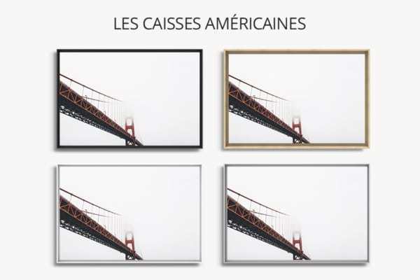 PHOTO FOG CITY PIECE CAISSES AMERICAINES