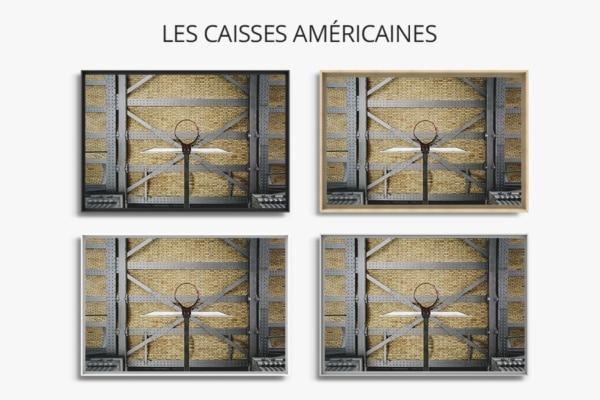 PHOTO Sous le métro CAISSES AMERICAINES
