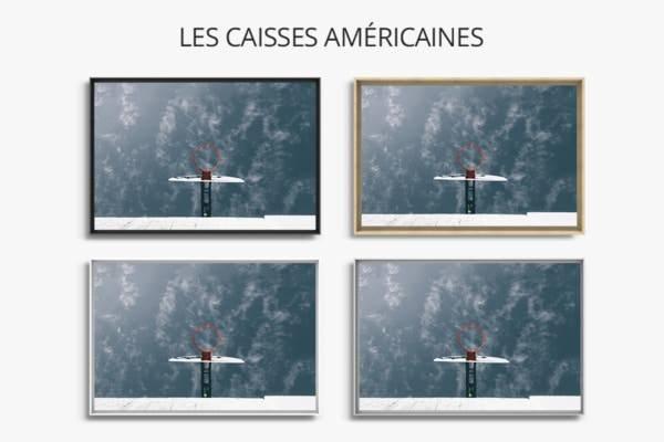 PHOTO Un tag a locean CAISSES AMERICAINES