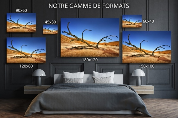 PHOTO couché malgré lui formats deco