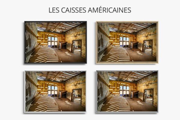 PHOTO jeu dombre  CAISSES AMERICAINES
