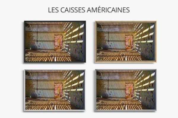 PHOTO jeu dombre  CAISSES AMERICAINES