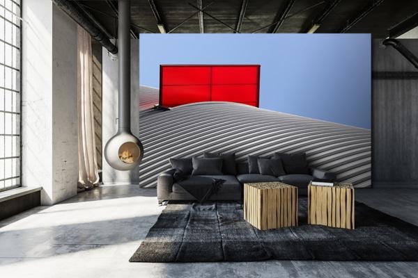 photo carton rouge dufour papierpeint
