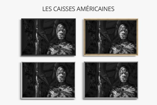 photo guerrier karo caisse americaines