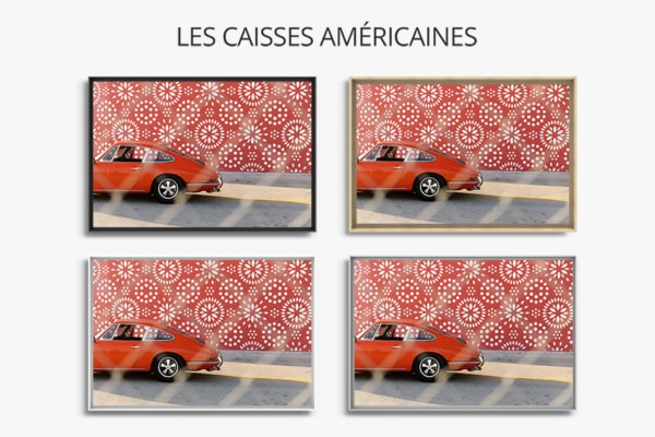photo matching color caisse americaine