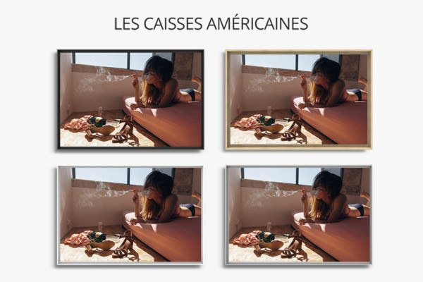 photo morning routine caisse americaine