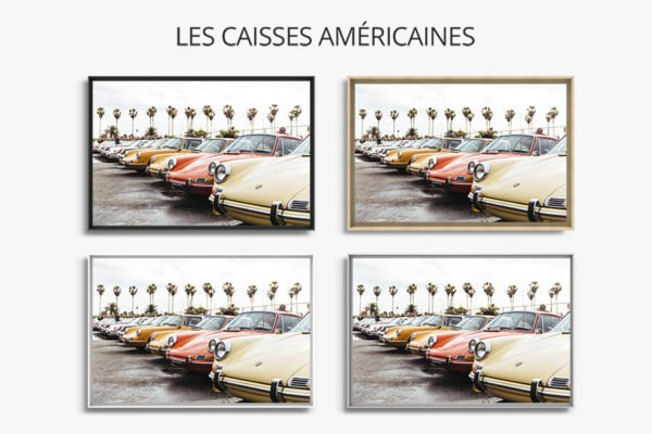 photo porscherainbow caisse americaine