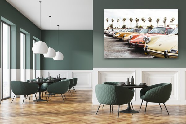 photo porscherainbow deco
