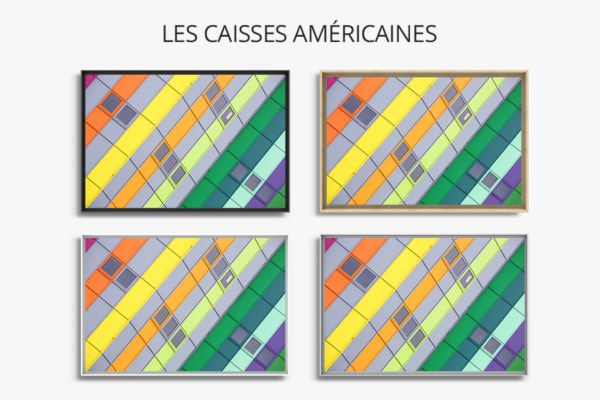 photo rainbow dufour caisses americaines