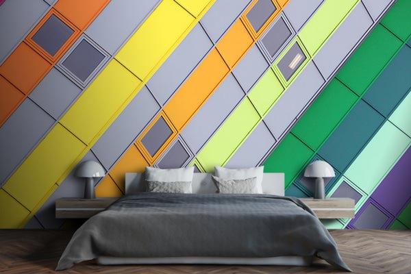 photo rainbow dufour papierpeint