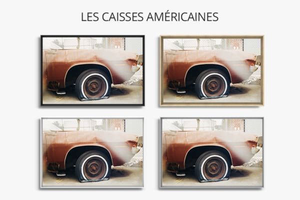 photo retired car caisses americaines