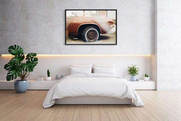 photo retired car deco
