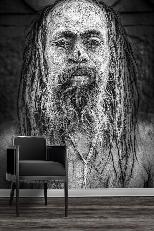 photo sadhu papier peint
