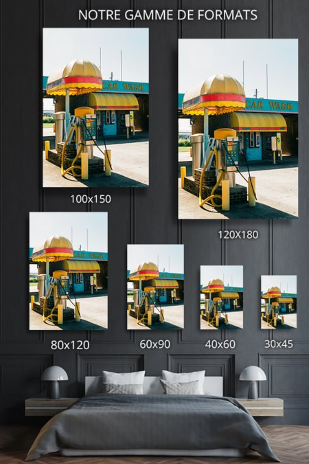 Photo car wash format deco