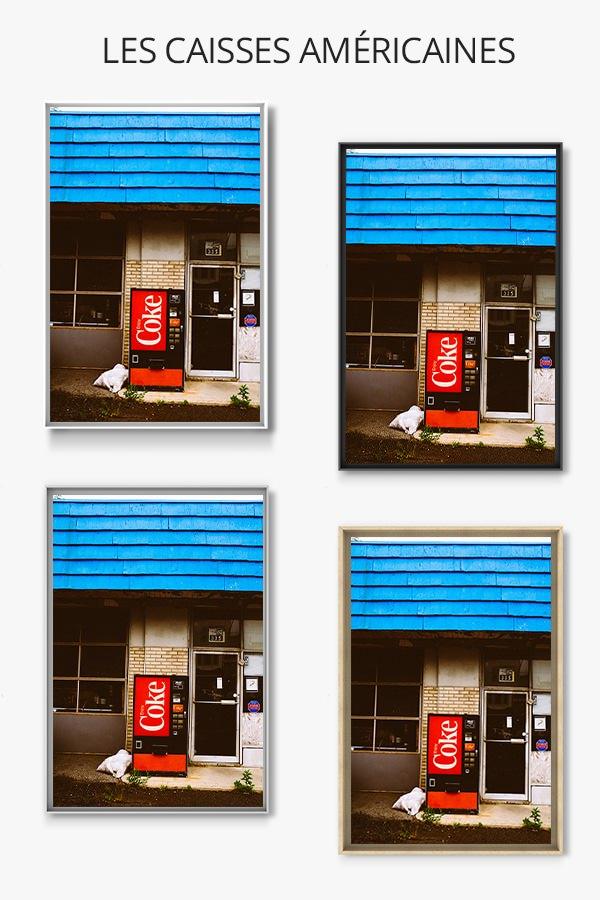 Photo machine coca cola jm saponero caisse americaine