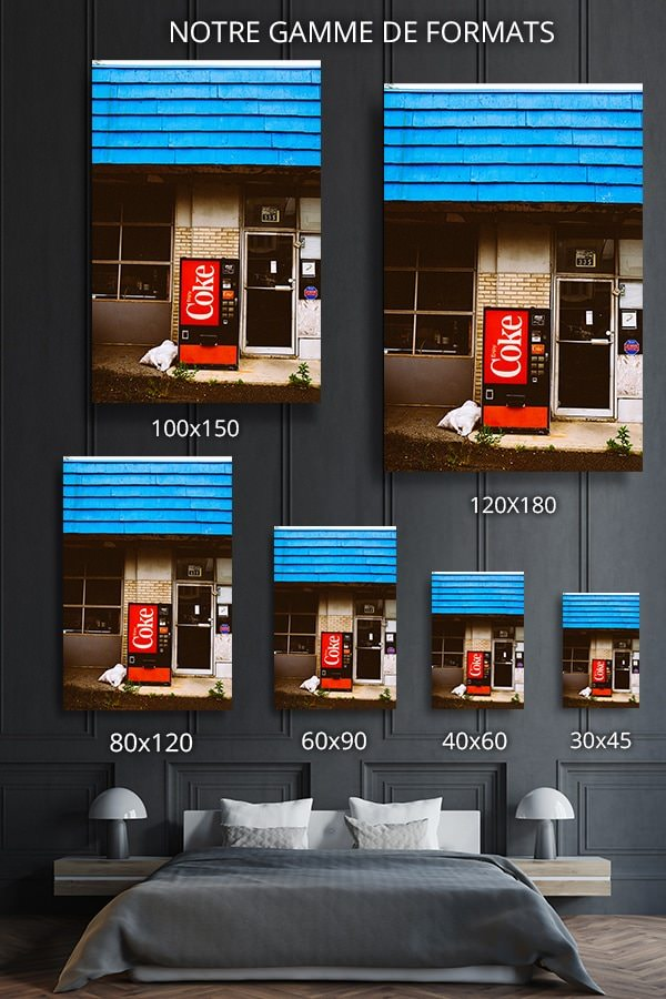 Photo machine coca cola formats deco jm saponaro