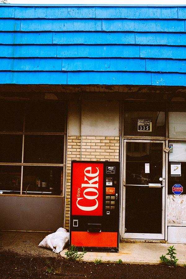 Photo machine coca cola jm saponaro