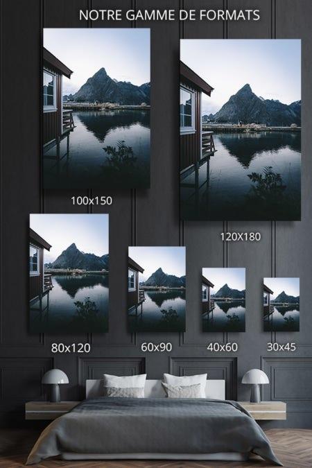 Photos iles lofoten format deco