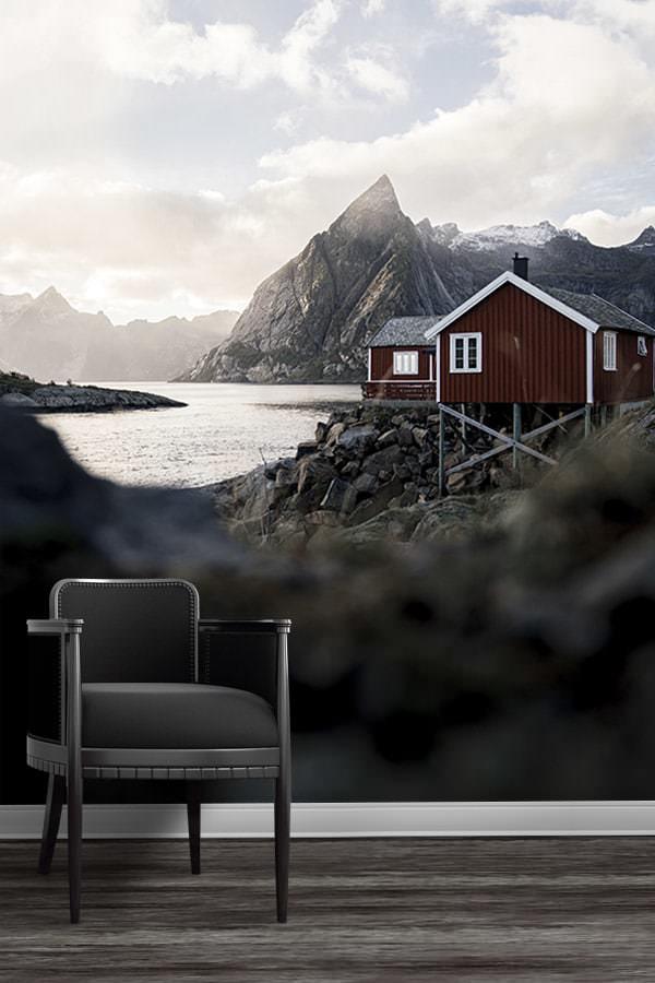 Photo-norvege-papierpeint